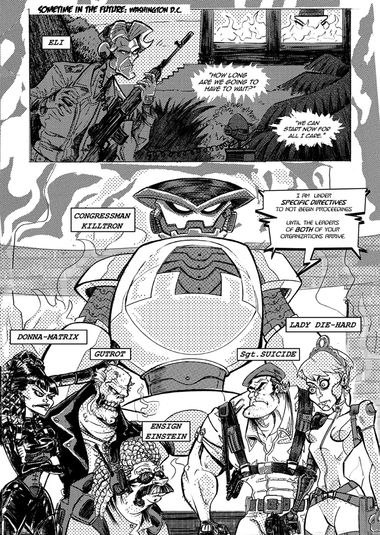 I FIGHT EVERYTHING – Prologue – Page 01
