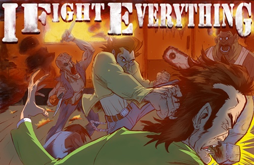 I FIGHT EVERYTHING – Prologue – Cover